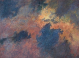 HAZE, 2002. Oil. 42 x 56 in.