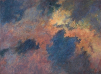 HAZE, 2002. Oil. 42 x 56 in.