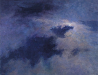 EXPANSE, 2002. Oil. 42 x 54 in.
